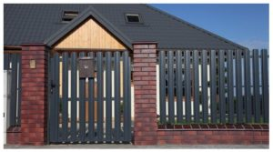 виды заборов для частных домов,  виды деревянных заборов частных домов